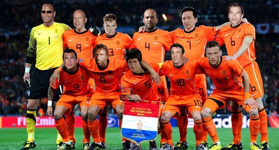 Foto de la selección holandesa