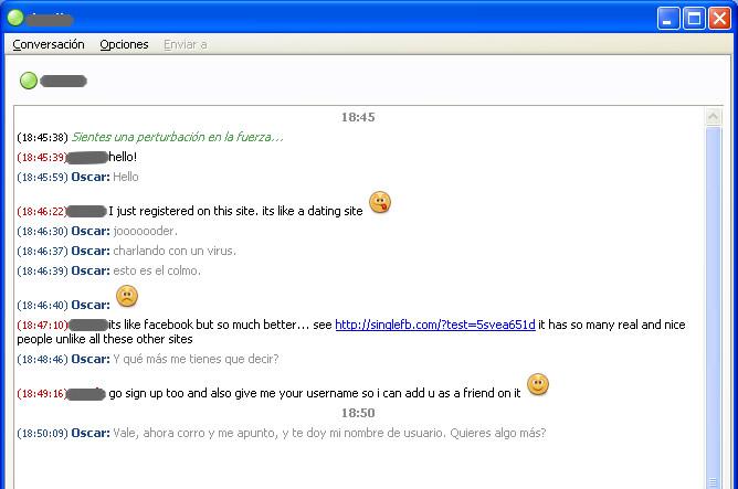 Mi conversación con un virus