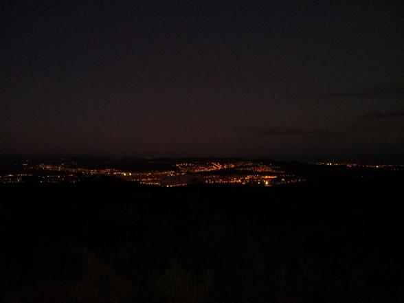 El Vendrell des de la Serra Pedragosa