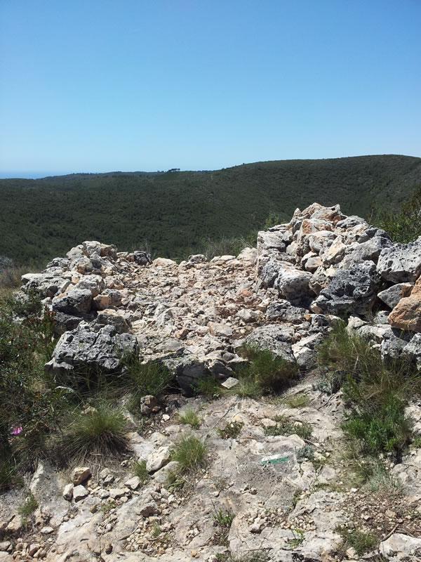 El mirador de Santa Aneta (Serra Pedragosa)